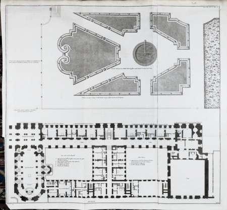wissenschaftliches bildarchiv f r architektur band 4 versailles schlo versailles grundri. Black Bedroom Furniture Sets. Home Design Ideas